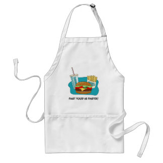 Burger and Fries Standard Apron