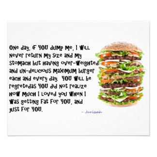 Burger Collection 11.5 Cm X 14 Cm Flyer