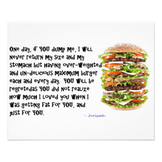Burger Collection Full Color Flyer
