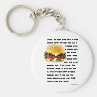 Burger Collection Key Chain