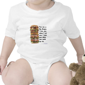 Burger Collection Baby Creeper