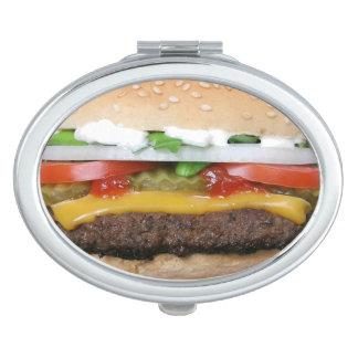 Burger Compact Mirror