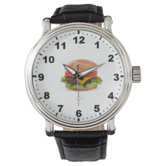 """Burger"" design wrist watch"