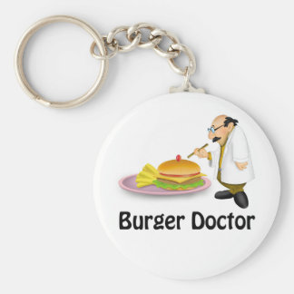 Burger Doctor Key Chain