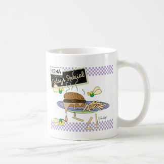 Burger - Edna the lunch lady Coffee Mugs