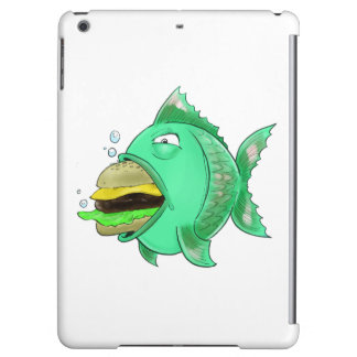 Burger Fish Ipad Case