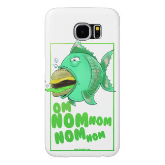 Burger Fish Phone Case