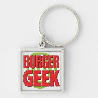 Burger Geek Key Chains
