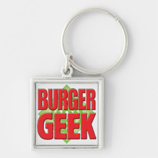 Burger Geek v2 Keychains
