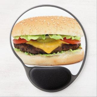 burger gel mouse pad