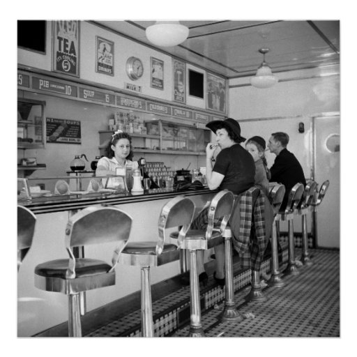 Burger Joint, 1941 Print