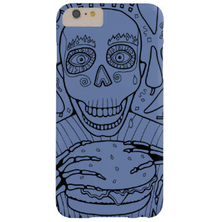 Burger Line Art Design Barely There iPhone 6 Plus Case