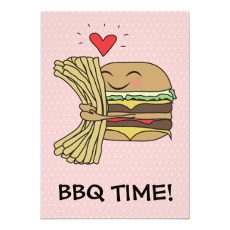 Burger Loves Fries BBQ Card
