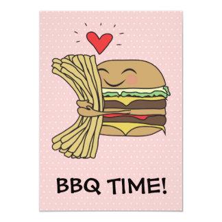 Burger Loves Fries BBQ Card