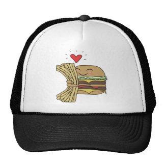 Burger Loves Fries Cap