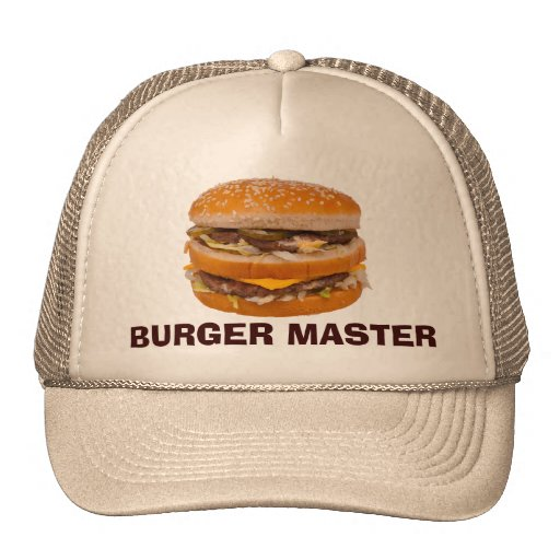 Burger Master Trucker Hats