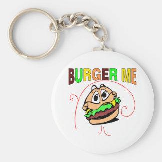 Burger Me Key Chain
