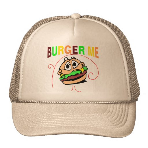 Burger Me Mesh Hats
