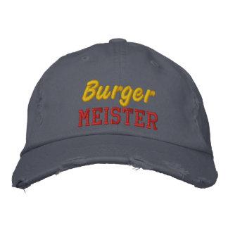 Burger Meister Embroidered Baseball Cap