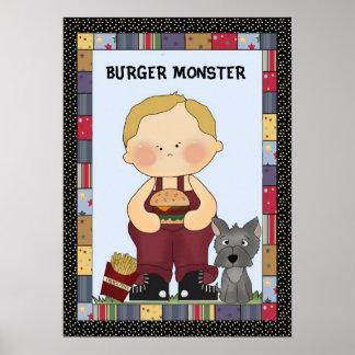 Burger Monster poster