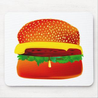 Burger Mouse Mat