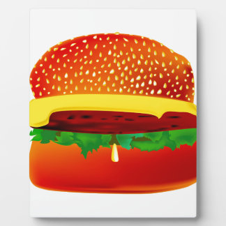 Burger Plaque