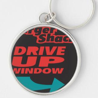 Burger Shack Drive Up Window Keychain