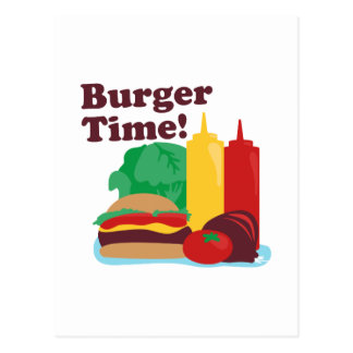 Burger Time! Postcard