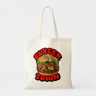 Burger Town - Tote Bag
