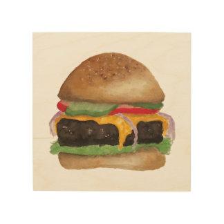 Burger Wood Sign