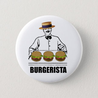 Burgerista 6 Cm Round Badge