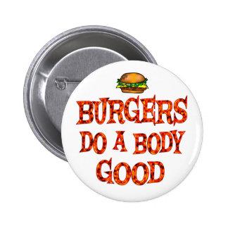 Burgers Do Good 6 Cm Round Badge