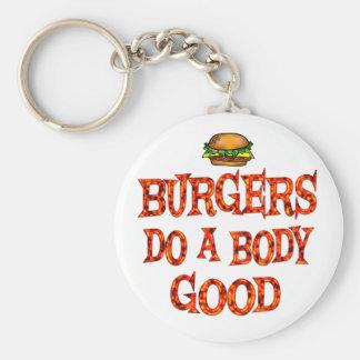 Burgers Do Good Keychain