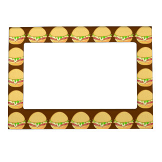 Burgers Magnetic Picture Frame