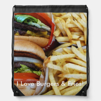 Burgers n Fries Backpacks