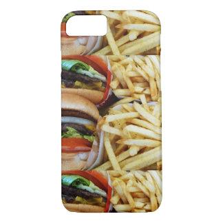 Burgers n Fries iPhone 7 Case