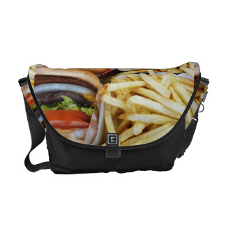 Burgers n Fries Courier Bag