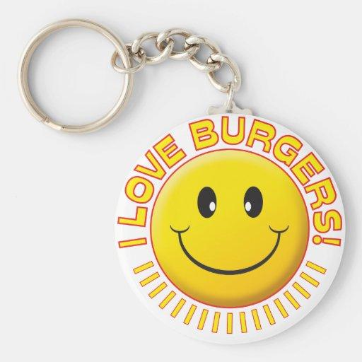Burgers Smile Key Chains
