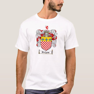 BURGESS FAMILY CREST -  BURGESS COAT OF ARMS T-Shirt