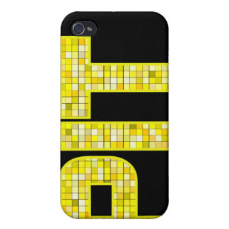 Burgh Bling Company Case Cover For iPhone 4
