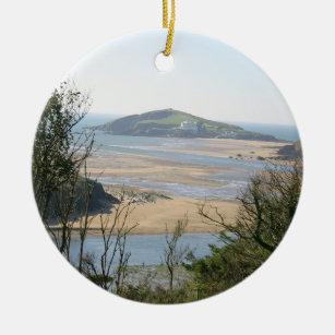 Burgh Island Christmas Ornament