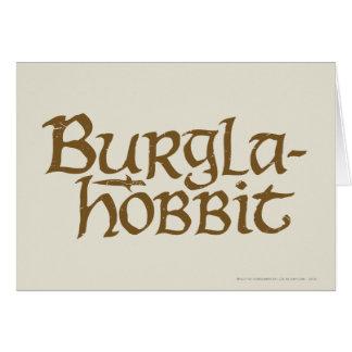 Burgla Hobbit Card