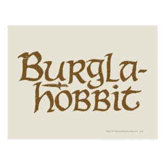 Burgla Hobbit Postcard