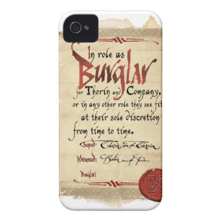 Burglar Contract iPhone 4 Case