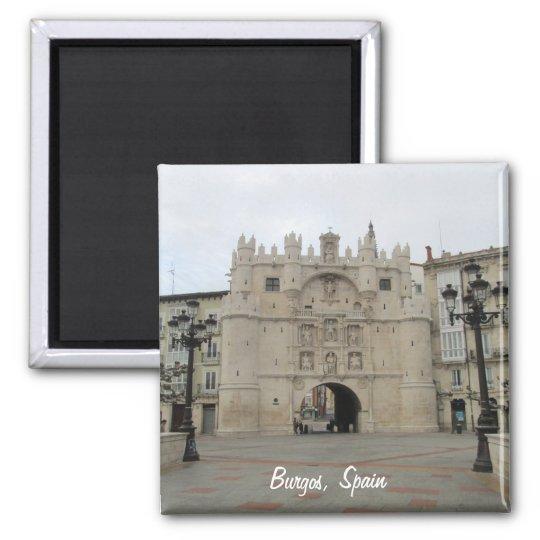 Burgos Square Magnet