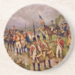 Burgoyne's Surrender at Saratoga by Percy Moran Beverage Coaster