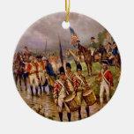 Burgoyne's Surrender at Saratoga by Percy Moran Christmas Tree Ornaments