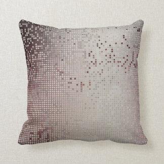 Burgund Maroon Vip Silver Cyber Numeric IT- DESIGN Cushion