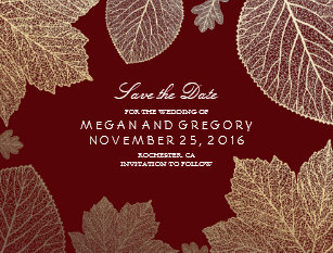 burgundy save the date cards zazzle uk