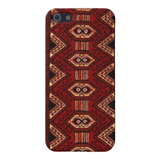 Burgundy-Burnt Sienna Kilim iPhone 5s Cover Case For The iPhone 5